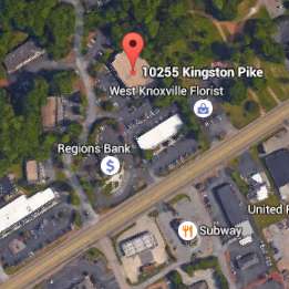 Satellite view of the Realty Executives Office